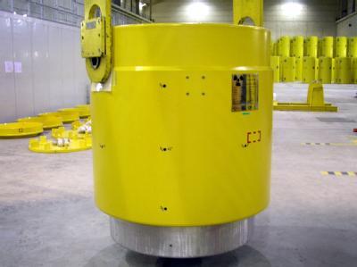 Castor-Behälter in Ahaus