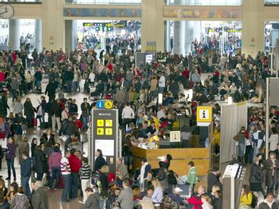 Tausende Passagiere waren auf dem Flughafen von Malaga gestrandet.