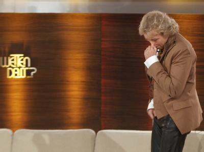 Thomas Gottschalk brach nach dem Unfall sichtlich schockiert die Sendung ab.
