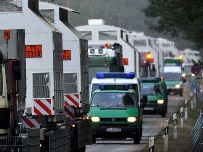 Gorleben-Atomtransport