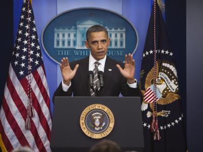 US-Präsident Obama ist für seinen Steuer-Kompromiss vor allem von linken Mitgliedern seiner Partei kritisiert worden.