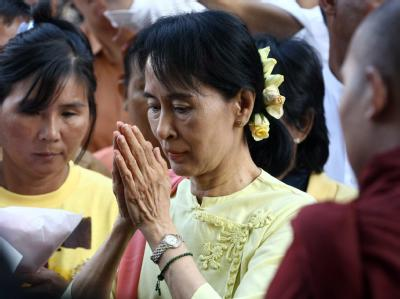 Bei der Verleihung 1991 stand die birmanische Oppositionspolitikerin Aung San Suu Kyi unter Hausarrest. Immerhin konnte ihre Familie den Preis in Empfang nehmen.