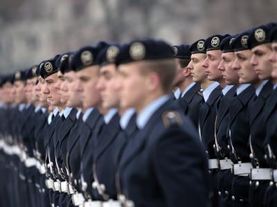 Soldaten des Wachbataillons