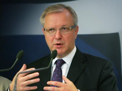EU-Währungskommissar Olli Rehn: «Wir warten derzeit auf die offizielle Anfrage.»