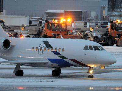 Auf dem Flughafen Hannover Langenhagen waren knapp 900 Passagiere gestrandet, die ursprünglich nach Frankfurt wollten.