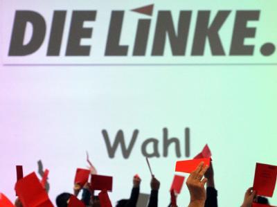 Die Delegierten wählten auf dem bayerischen Landesparteitag der Partei Die Linke Xaver Merk zum neuen Landesvorsitzenden.