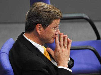 FDP-Chef Guido Westerwelle bekommt Druck aus den eigenen Reihen.