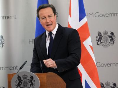 Der britische Premier David Cameron will die EU-Ausgaben der großen EU-Länder langfristig deckeln.