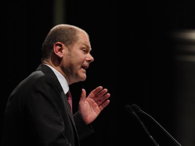 Der Landesvorsitzende der Hamburger SPD Olaf Scholz ist auch der SPD-Spitzenkandidat für die Bürgerschaftswahl am 20. Februar.