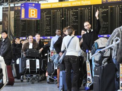 Chaos am Flughafen Frankfurt