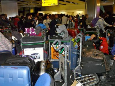 Londoner Flughafen dicht