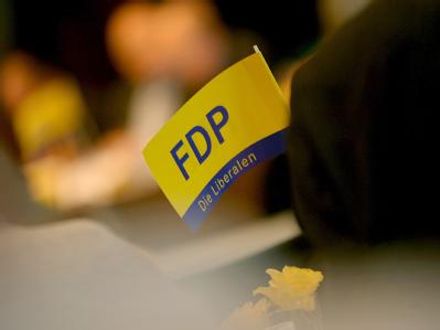 FDP-Fähnchen