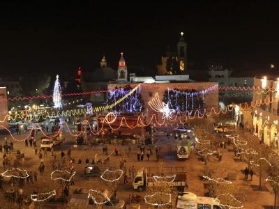 Tausende Gläubige feiern in Bethlehem Heiligabend.