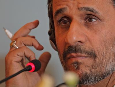 Irans Präsident Ahmadinedschad vergangene Woche in der Türkei. Die im Iran inhaftierten Journalisten konnten nun Besuch empfangen.