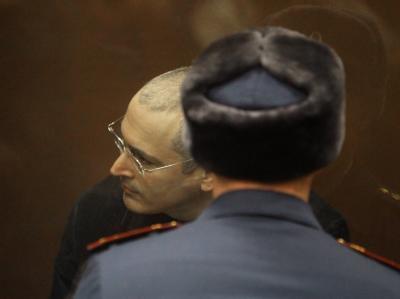 Warten auf das Urteil: Der Angeklagte, Michail Chodorkowski