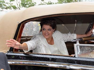 Dilma Rousseff ist die erste Präsidentin Brasiliens.
