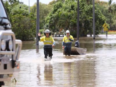�berschwemmung in Australien
