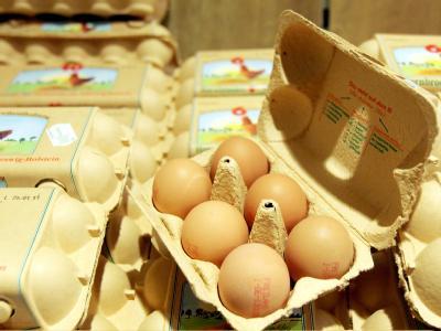 Der Verkauf von Hühnereiern ist der landwirtschaftlichen Marktberichterstattungsstelle MEG zufolge schon «spürbar» gesunken.