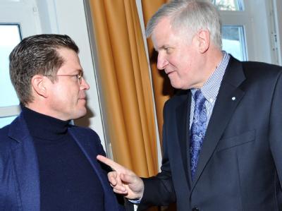 Seehofer und zu Guttenberg