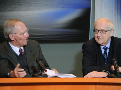 Wolfgang Schäuble und Rainer Brüderle
