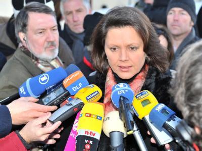 Bundeslandwirtschaftsministerin Ilse Aigner: «Momentan wissen wir, dass acht Länder betroffen sind.»