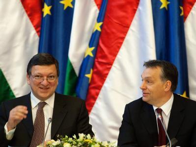 José Manuel Barroso und Viktor Orban