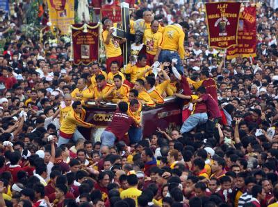 Hunderte Verletzte in Manila