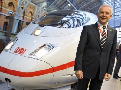 Bahnchef Rüdiger Grube: Es gibt nichts schönzureden. (Archivbild)