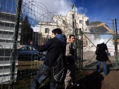 Internationale Kritik an Bauprojekt in Ost-Jerusalem