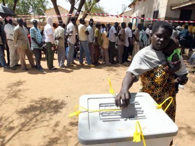 Abstimmung im Sudan