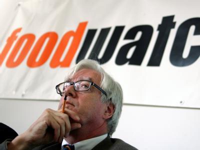 Foodwatch-Geschäftsführer Thilo Bode: Skandal ist nur die Spitze des Eisbergs. (Archivbild)
