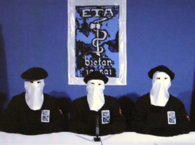 ETA-Kommando auf einem Video.