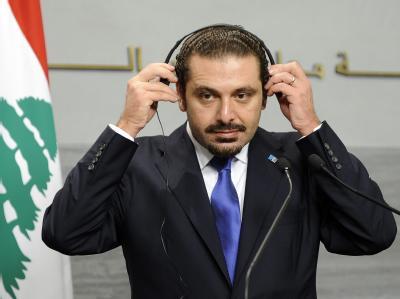 Die Regierung des libanesischen Ministerpräsidenten Saad Hariri ist gescheitert. (Archivbild)