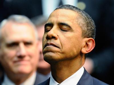Obama während der Trauerfeier für die Opfer von Tucson.