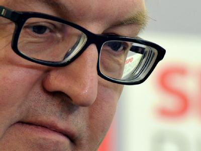 SPD-Fraktionschef Frank-Walter Steinmeier (Archivbild)