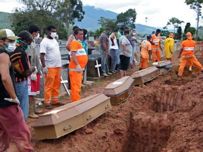 Hilfsaktion nach Unwetter-Tragödie in Brasilien