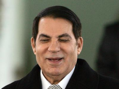 Tunesiens Ex-Machthabers Zine el Abidine Ben Ali droht die Sperrung seiner Konten.