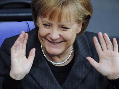 Das Vertrauen in die Bundeskanzlerin ist wieder gestiegen.