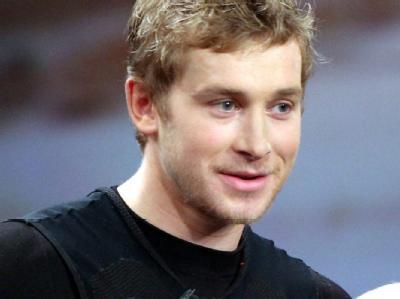Der Wettkandidat Samuel Koch am 04.12.2010 in Düsseldorf während der ZDF-Show «Wetten, dass..?», in deren Verlauf er sich schwere Verletzungen zuzog.