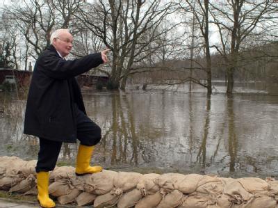 Umweltminister Sander in Alt Garge