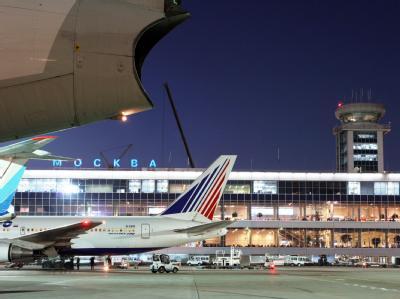 Moskauer Flughafen Domodedowo