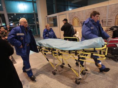 Attentat auf Moskauer Flughafen