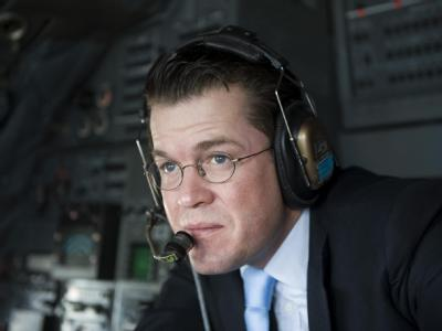 Verteidigungsminister zu Guttenberg