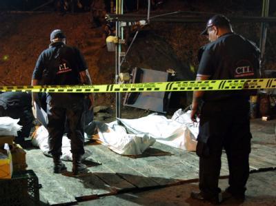 Das Unglück wurde vermutlich durch eine Metangas-Explosion ausgelöst.