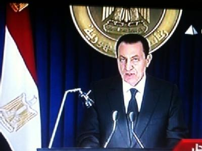 Ägypten - Mubarak-Rede