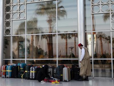 Urlauber in Ägypten