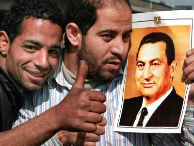 Mubarak-Anh�nger