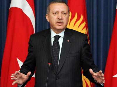 Erdogan in Kirgistan