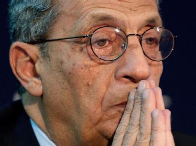 Amre Mussa, der Generalsekretär der Arabischen Liga.