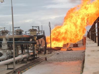 Nach dem Anschlag auf die Gaspipeline im Norden der Sinai-Halbinsel mussten die Lieferungen unterbrochen werden.